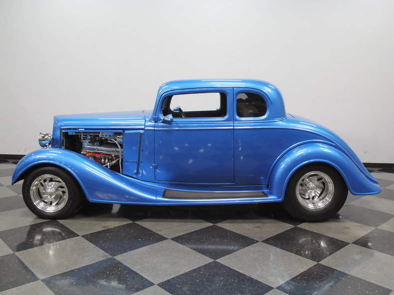 1934 chevrolet 5 window coupe streetside classics the for 1934 chevy 5 window coupe