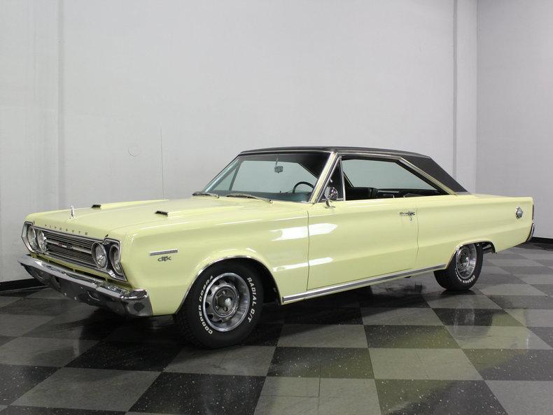 1967 Plymouth GTX Belvedere