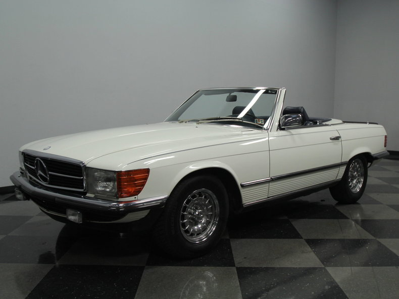 1984 Mercedes-Benz SL500