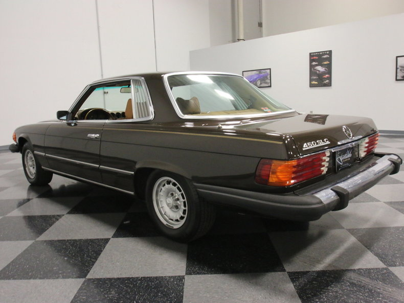 1974 mercedes benz 450slc streetside classics the for Atlanta mercedes benz dealers