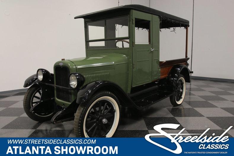 1926 Chevrolet Canopy Express Truck