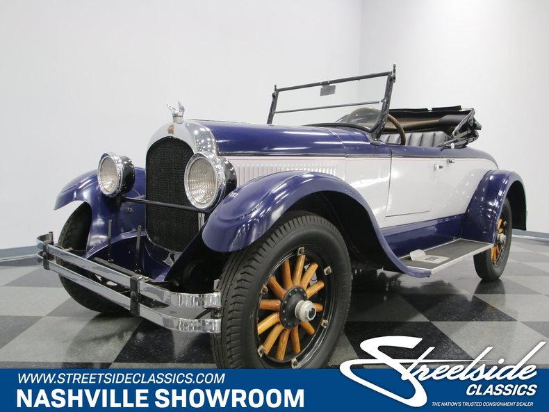 1924 Chrysler B-70 Roadster