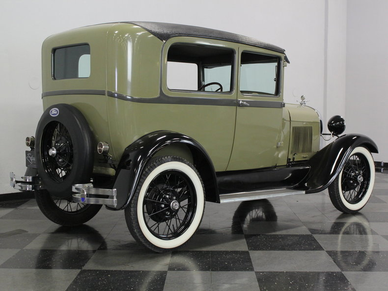 1928 ford model a streetside classics classic exotic for 1928 ford 2 door sedan