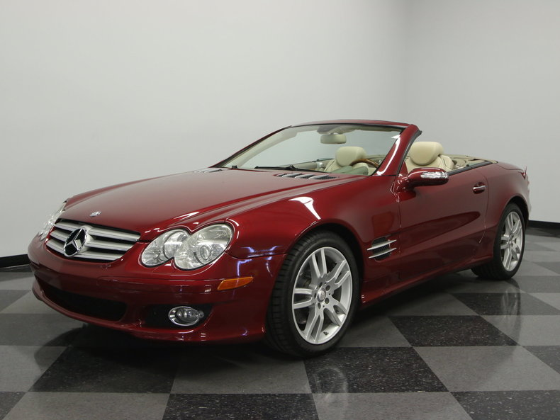 2008 Mercedes-Benz SL550