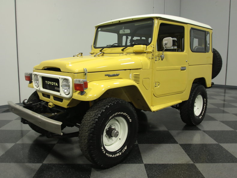 1979 Toyota BJ41 Land Cruiser