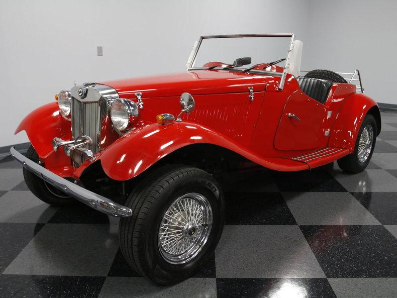 1952 MG TD Replica