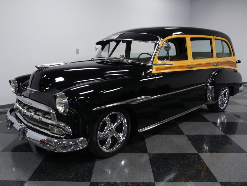 1952 Chevrolet Tin Woody Wagon