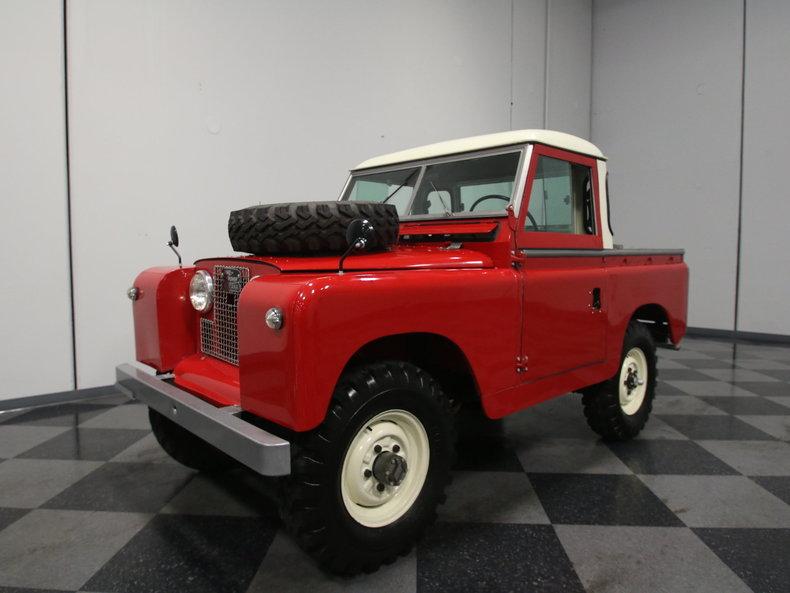 1966 Land Rover Series IIA Pickup