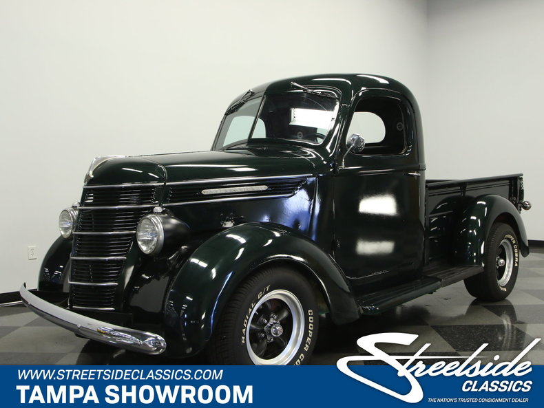 1940 International D-2 Custom Pickup