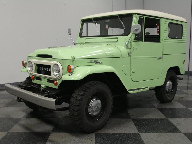 1962 Toyota Land Cruiser