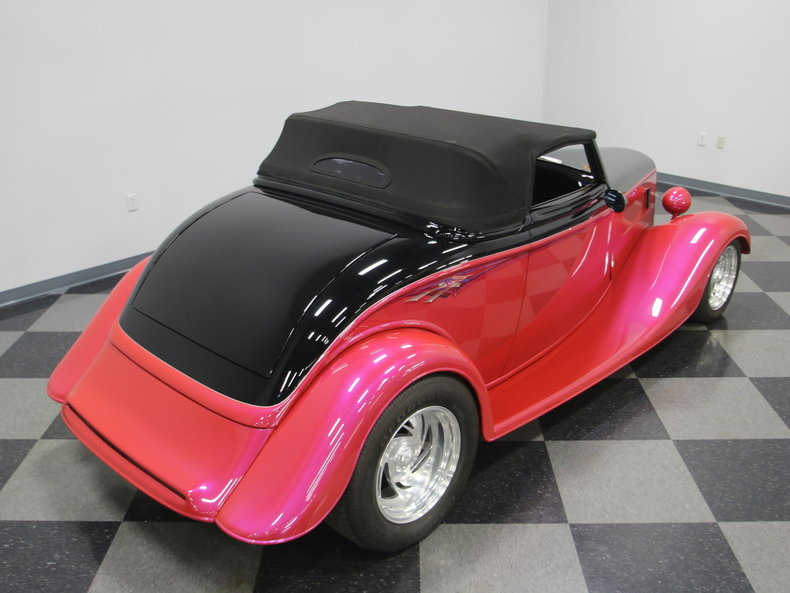 1933 Ford Cabriolet Convertible 56