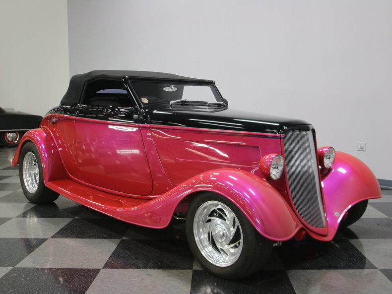 1933 Ford Cabriolet Convertible 59