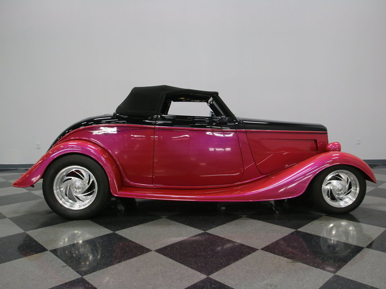 1933 Ford Cabriolet Convertible 51