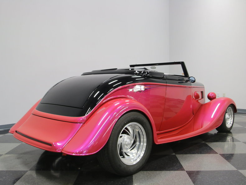 1933 Ford Cabriolet Convertible 46