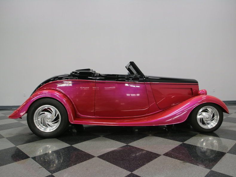1933 Ford Cabriolet Convertible 50