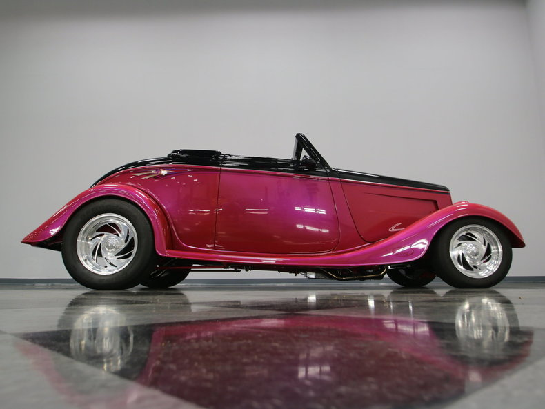 1933 Ford Cabriolet Convertible 62