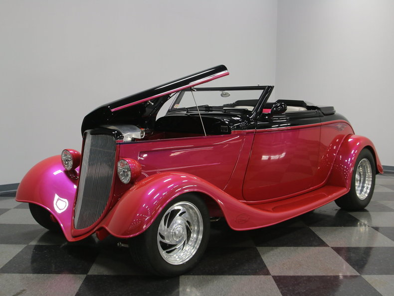 1933 Ford Cabriolet Convertible 15