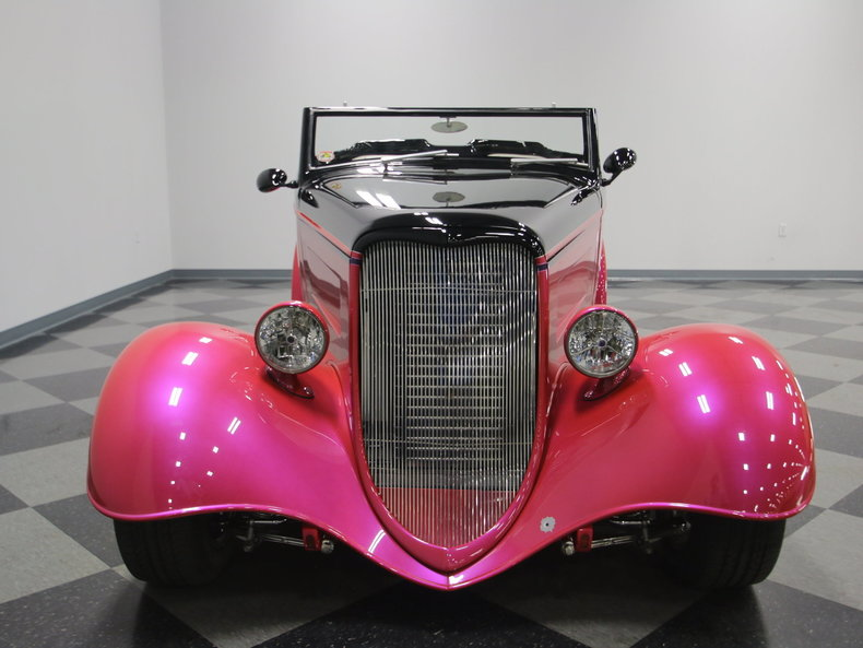 1933 Ford Cabriolet Convertible 18