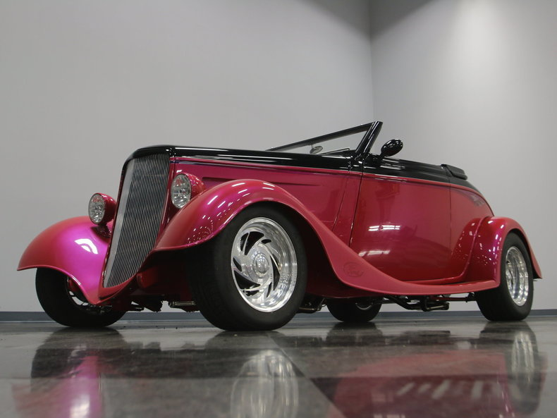 1933 Ford Cabriolet Convertible 19