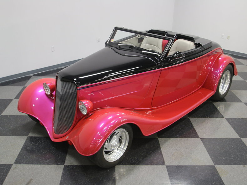 1933 Ford Cabriolet Convertible 11
