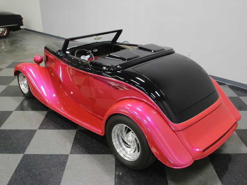 1933 Ford Cabriolet Convertible 9