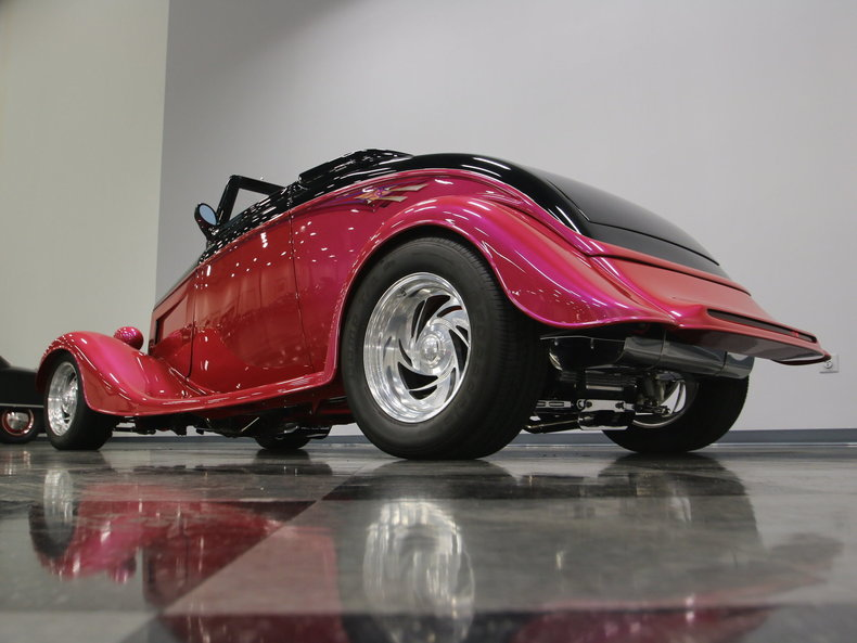 1933 Ford Cabriolet Convertible 20