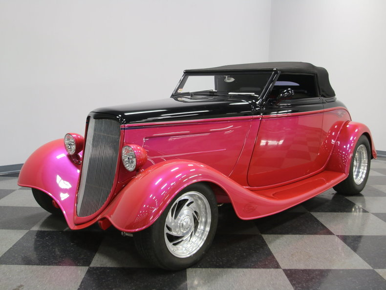1933 Ford Cabriolet Convertible 37