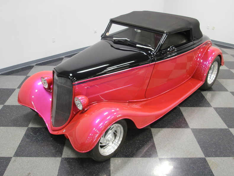 1933 Ford Cabriolet Convertible 38