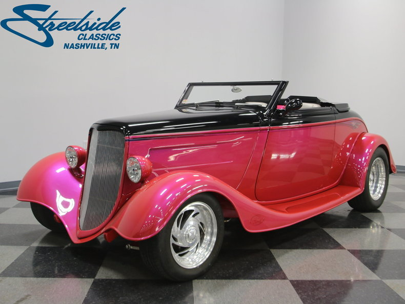 1933 Ford Cabriolet Convertible 41