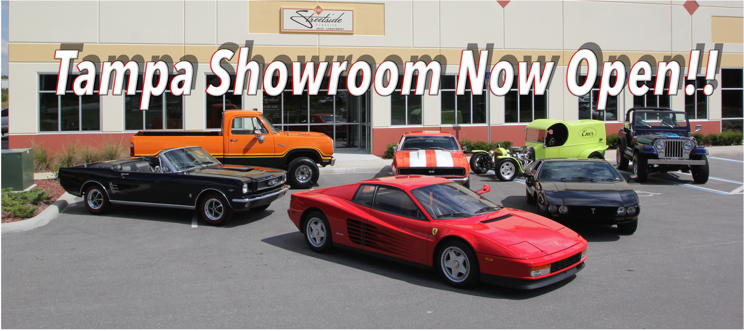 Tampa Showroom Now Open!