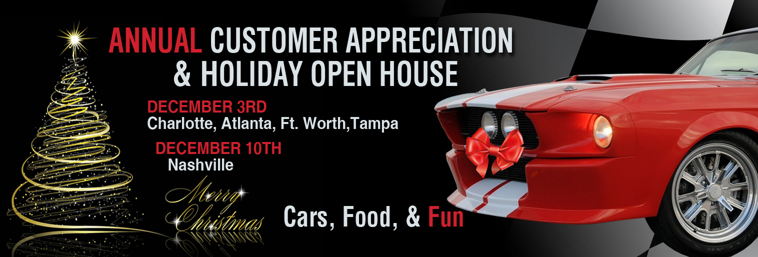 Annual Customer Appreciation and Holiday Open House
