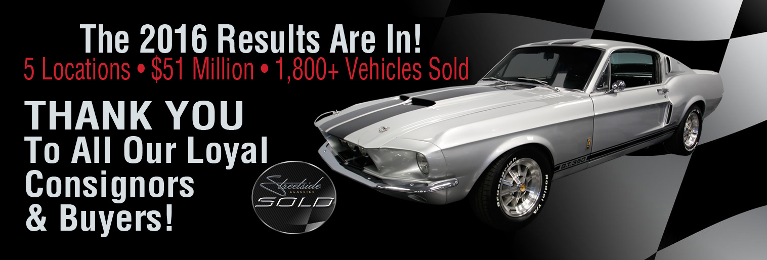 We Sell Classic Cars Like Nobody Else!