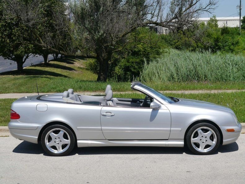 2001 Mercedes-Benz CLK430