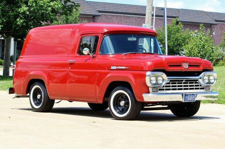 1960 Ford Panel Van