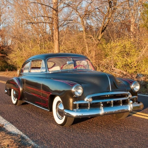 1949 Chevrolet Fleetline 2 Dr Custom