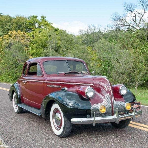 1939 Buick Special 2 Door Coupe