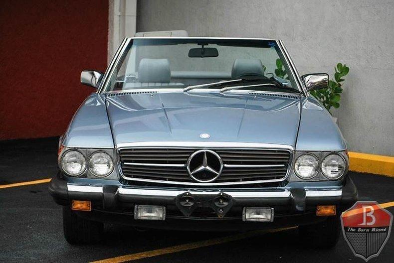 1985 mercedes benz 380 class the barn miami for Mercedes benz dealership miami