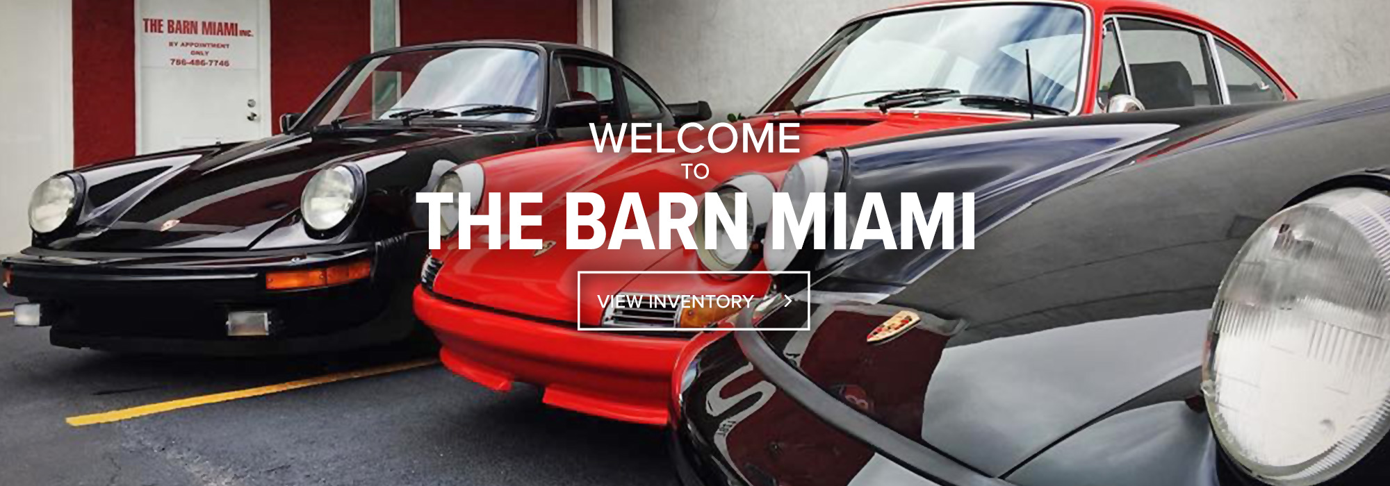 Classic, Exotic & Special Interest Cars For Sale | The Barn Miami