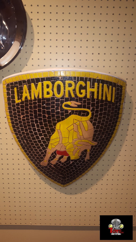Lamborghini Decorative Wall Hanger