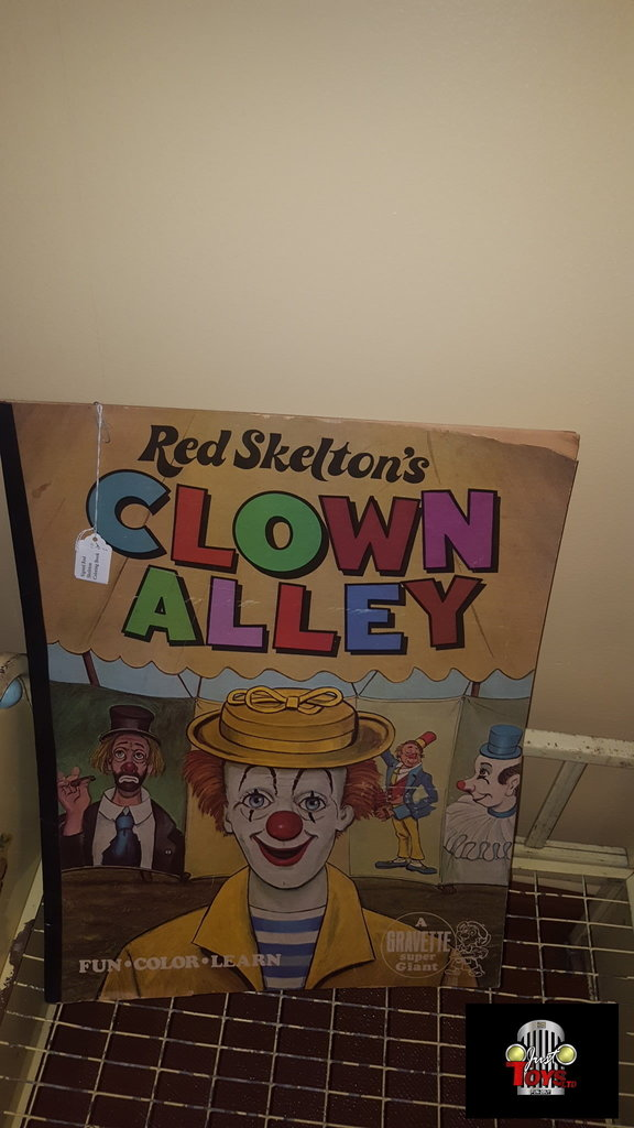 Red Skelton's Clown Alley Coloring Book