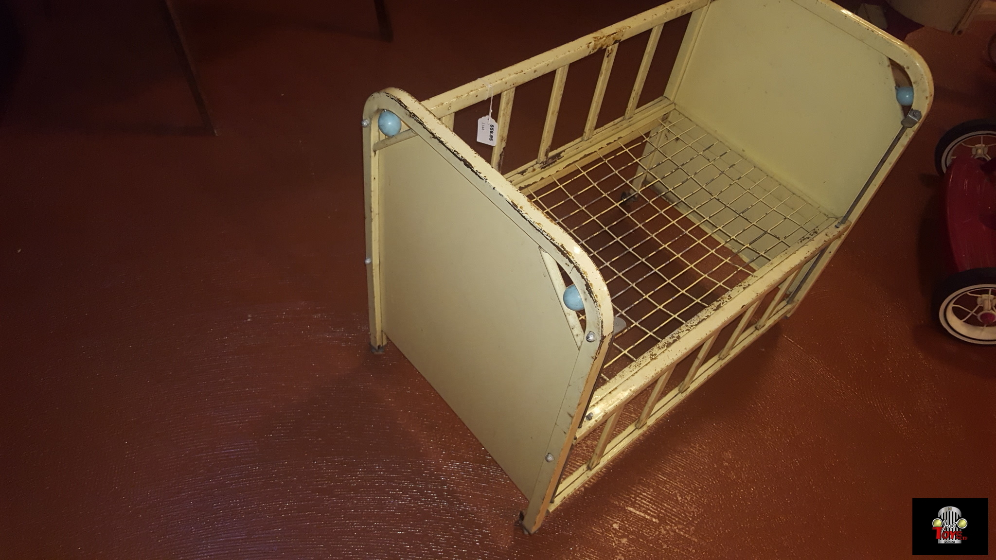 Metal Baby Doll Carriage