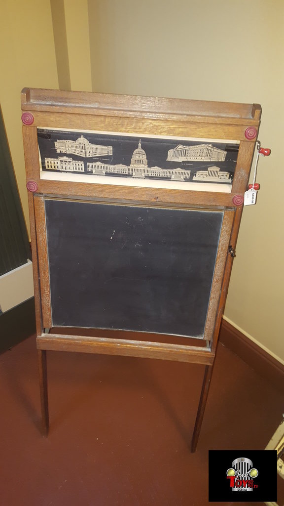 Washington D.C. Landmark Chalk Board