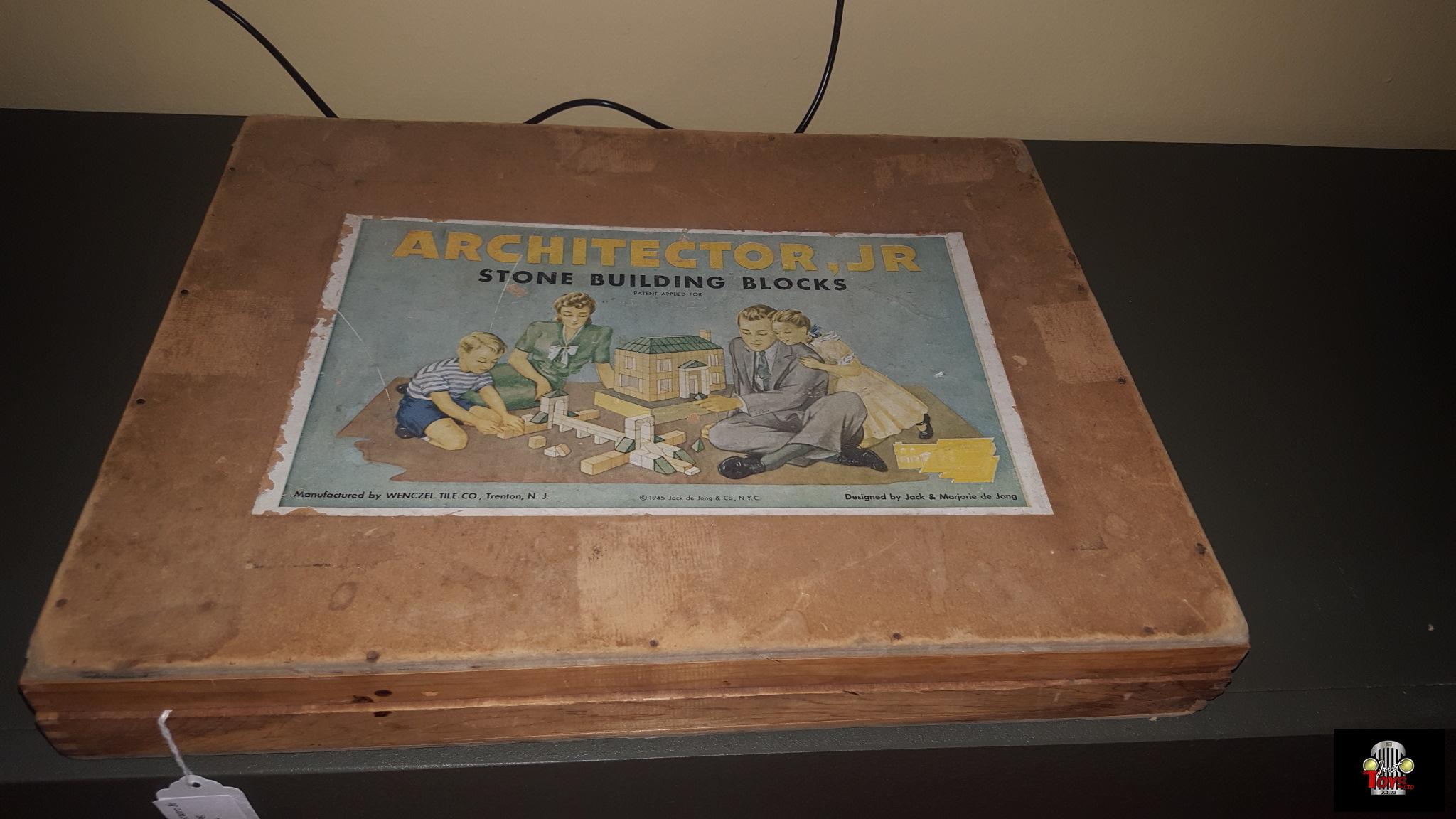 Architector Jr Stone Building Blocks Set