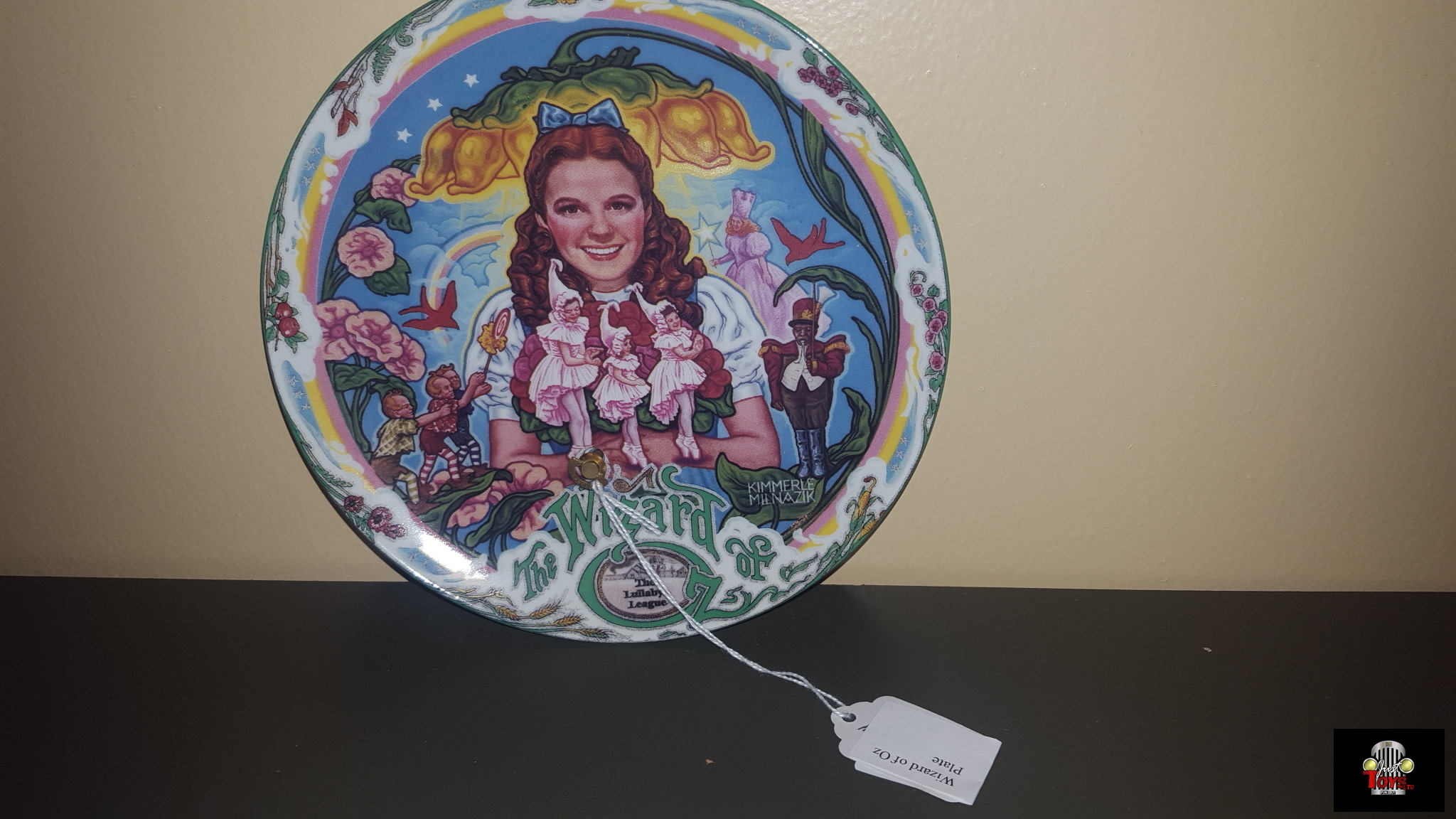 Wizard of Oz Comemerative Plate