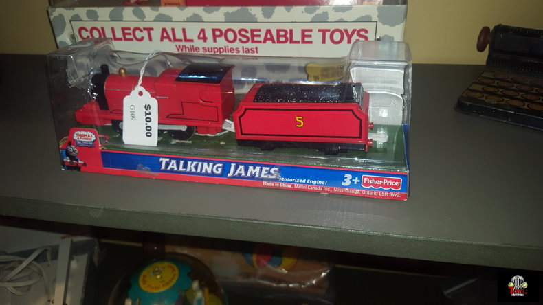 Talking James Motorized Toy Engine