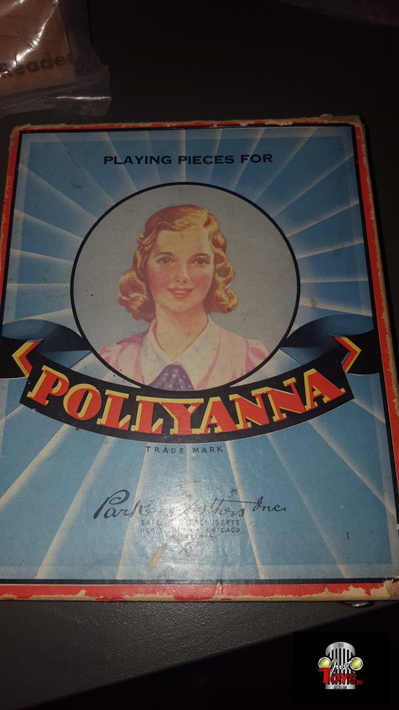 Parker Brothers Pollyanna Game Piece Set