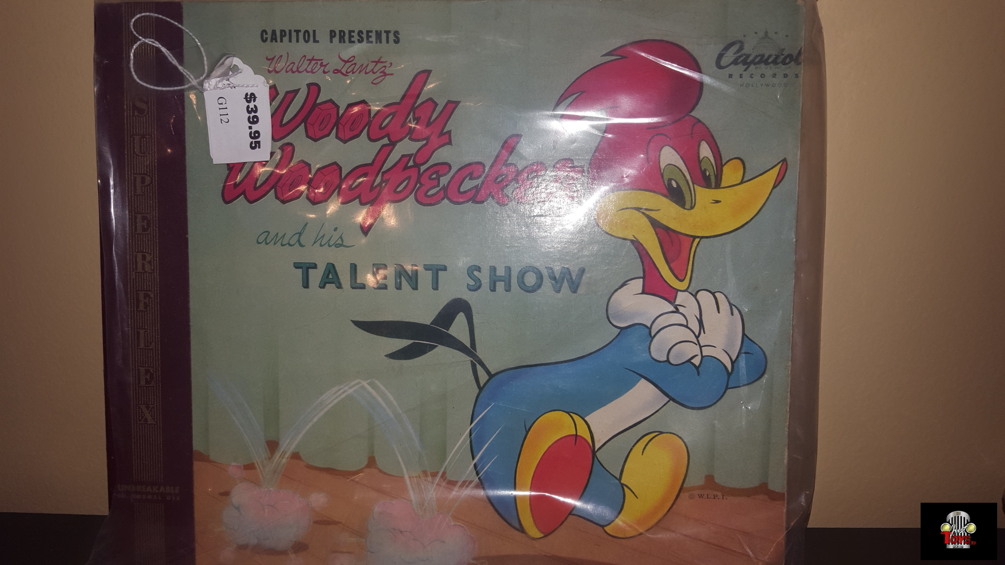 Capitol Records Woody Wood Pecker and His Talent Show