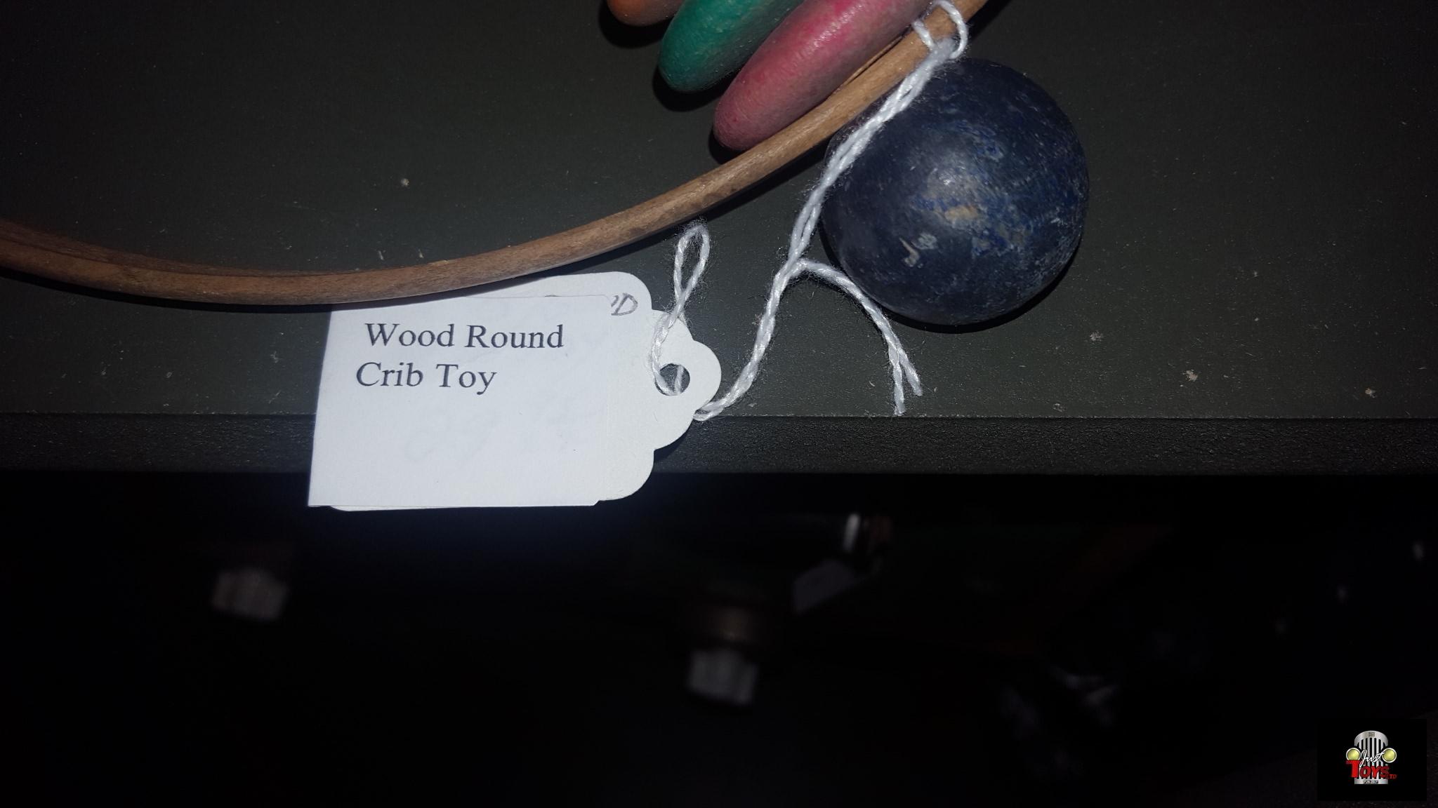 Wood Round Crib Toy