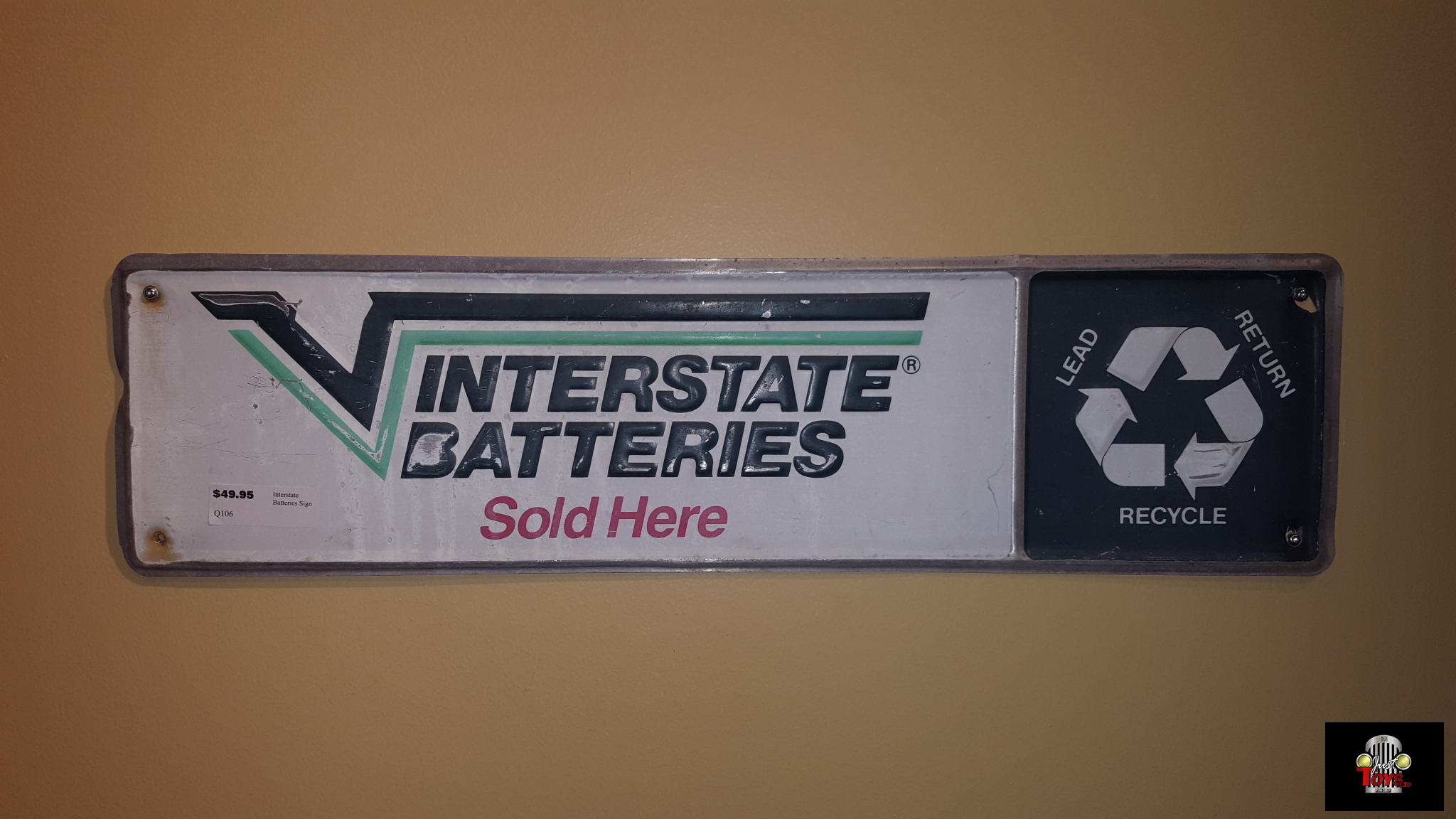 Interstate Battery Sign