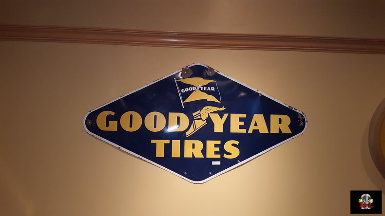 Goodyear Tire Sign
